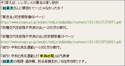 http://webcache.googleusercontent.com/search?q=cache:LR7dHnxtpRoJ:blog.goo.ne.jp/adlum99v3t/e/ad0c933bc6ad84f0f36d88bb5382f9a0+%E5%B8%82%E6%B0%91%E3%81%AE%E5%85%9A+%E7%94%B0%E8%8B%B1%E5%A4%AB&cd=3&hl=ja&ct=clnk&gl=jp&source=www.google.co.jp