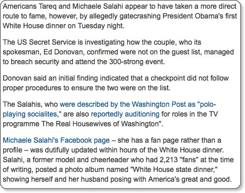 http://www.guardian.co.uk/world/2009/nov/26/couple-gatecrashes-barack-obama-white-house-dinner