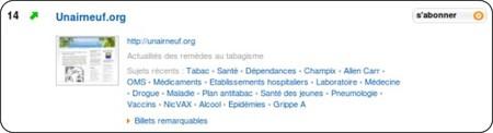 http://www.wikio.fr/blogs/top/sante