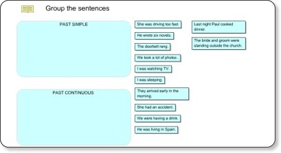 http://www.englishgrammarsecrets.com/pastsimpleorcontinuous/exercise1.html