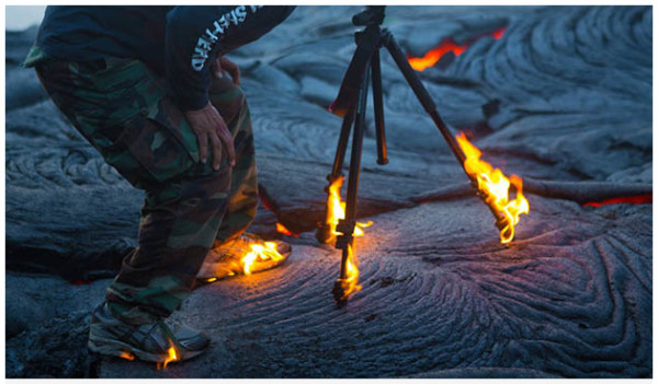 http://petapixel.com/2013/07/13/photographer-gets-so-close-to-lava-that-his-shoes-and-tripod-catch-on-fire/?utm_source=feedburner&utm_medium=feed&utm_campaign=Feed%3A+PetaPixel+%28PetaPixel%29