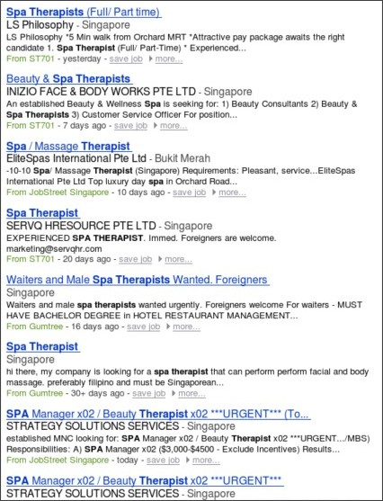 http://www.jobs.com.sg/Spa-Therapist-jobs