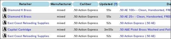 http://ammoseek.com/reloading/brass/50-action-express