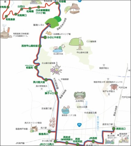 http://www.nishi.or.jp/homepage/keikaku/sakurayamanami/root.html