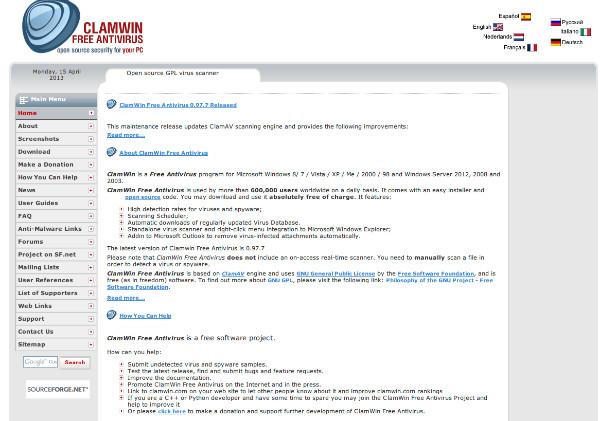 http://www.clamwin.com/