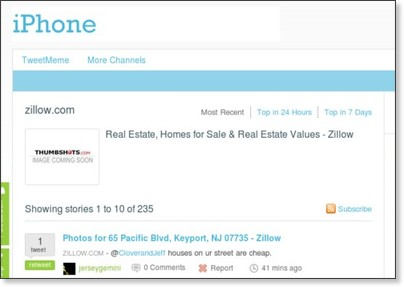 http://iphone.tweetmeme.com/domain/www.zillow.com