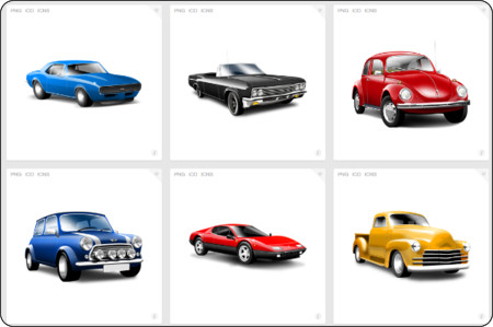 http://www.iconfinder.com/search/?q=iconset%3Aclassic-cars-by-cemagraphics