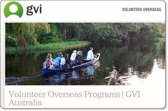 http://www.gviaustralia.com.au/volunteer-overseas