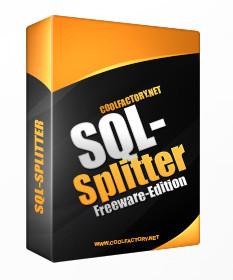http://www.coolfactory.net/sql-splitter.php