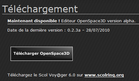 http://www.openspace3d.com/lang/fr/support/download/