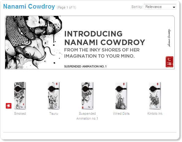 http://store.theflip.com/en-us/designs/subcategory.aspx?cat=by_designer&subcat=Nanami_Cowdroy&cid=m2