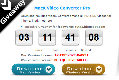 http://www.macxdvd.com/giveaway/exclusive-giveaway-for-freewares-tutos.blogspot.htm