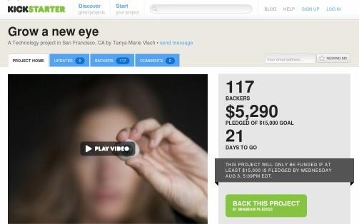 http://www.kickstarter.com/projects/growaneweye/grow-a-new-eye