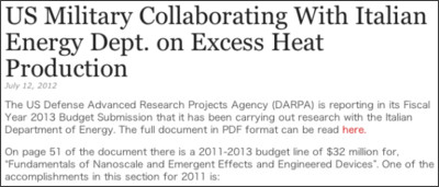 http://www.e-catworld.com/2012/07/us-military-collaborating-with-italian-energy-dept-on-excess-heat-production/