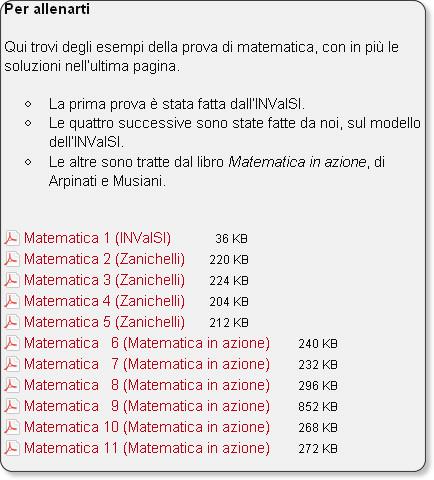 http://scuola.zanichelli.it/online/quartaprova/category/matematica/