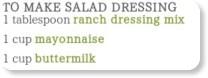 http://www.recipezaar.com/Dry-Ranch-Dressing-Mix-27560