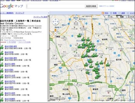 http://maps.google.com/maps/ms?hl=ja&ie=UTF8&msa=0&msid=203828047705536738653.0004986352c20235943db&ll=35.900175,139.795876&spn=0.097337,0.120163&z=12&source=embed