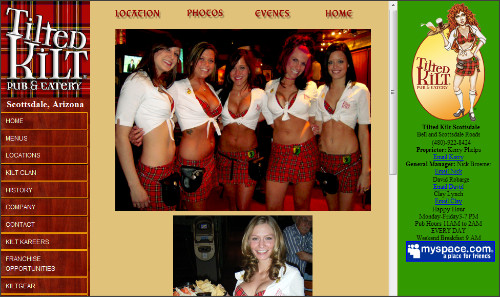 http://www.tiltedkilt.com/arizona/scottsdale/photos.html