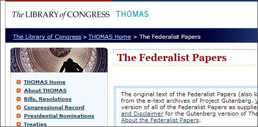 http://thomas.loc.gov/home/histdox/fedpapers.html