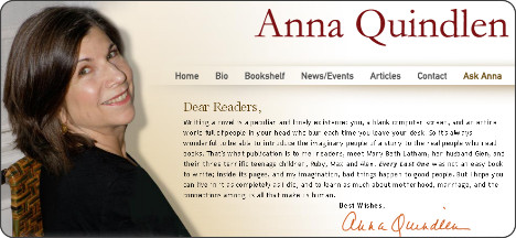 motherhood essay by anna quindlen Anna quindlen essay when anna was nineteen, her mother anna quindlen went from being little anna marie quindlen to the great woman she is now.
