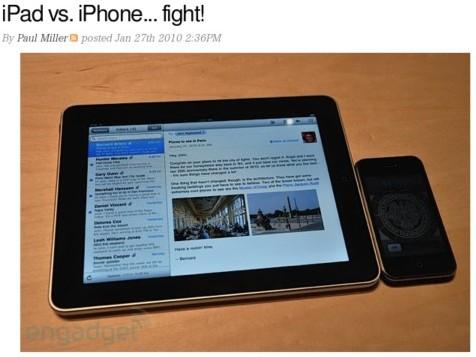 http://www.engadget.com/2010/01/27/ipad-vs-iphone-fight/