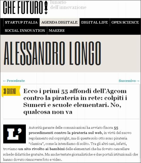 http://www.chefuturo.it/2014/06/ecco-i-primi-55-colpi-dellagcom-contro-la-pirateria-colpiti-i-sumeri-e-teoria-del-big-bang-no-qualcosa-non-va/