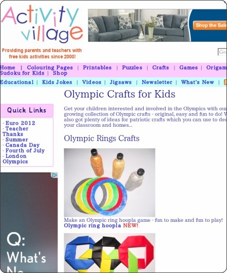 http://www.activityvillage.co.uk/olympic_crafts_for_kids.htm