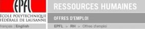 http://www5.epfl.ch/emplois/