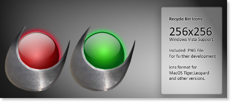 http://hydrattz.deviantart.com/art/Recycle-Bin-or-Trash-Icons-79929403