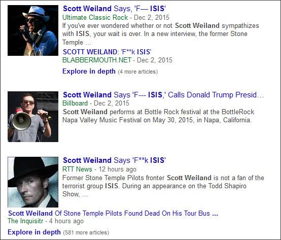 https://www.google.com/search?hl=en&gl=us&tbm=nws&authuser=0&q=+Scott+Weiland&oq=+Scott+Weiland&gs_l=news-cc.12..43j0l8j43i53.385562.385562.0.386589.1.1.0.0.0.0.344.344.3-1.1.0...0.0...1ac.2.O_P0B5pdiwU#hl=en&gl=us&authuser=0&tbm=nws&q=Scott+Weiland+ISIS