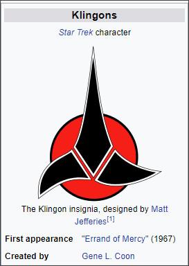 https://en.wikipedia.org/wiki/Klingon