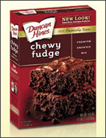 http://www.duncanhines.com/products/brownies/chewy-fudge-premium-brownie-mix