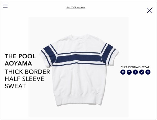 http://the-pool-aoyama.com/post/123012107386/the-pool-aoyama-thick-border-half-sleeve-sweat
