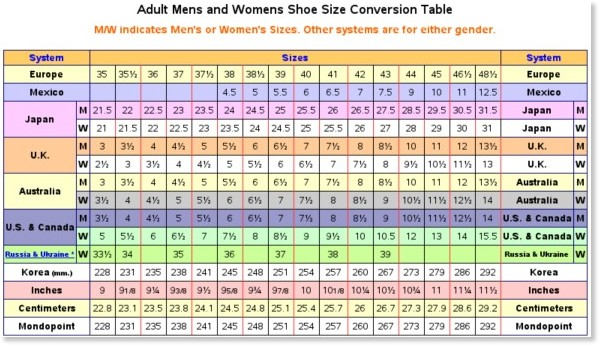 Us Shoe Size To European Nike