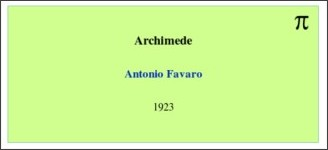 http://it.wikisource.org/wiki/Archimede_%28Favaro%29