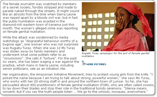 http://www.independent.co.uk/news/world/africa/genital-mutilation-women-fight-africas-taboo-1633423.html