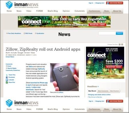 http://www.inman.com/news/2010/03/17/zillow-ziprealty-roll-out-android-apps