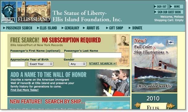 http://www.ellisisland.org/default.asp