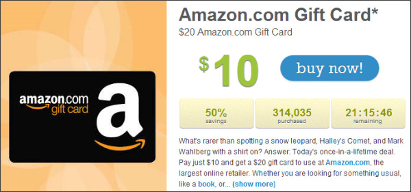 http://livingsocial.com/deals/21336-20-amazon-com-gift-card