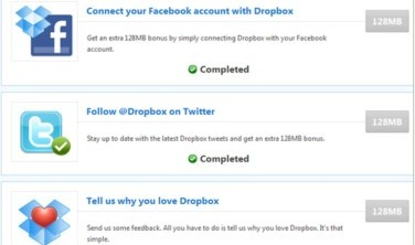 http://lifehacker.com/5696036/grab-up-to-768-mb-free-dropbox-space-through-social-media-connections