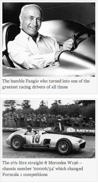http://en.mercopress.com/2013/07/12/five-time-champion-fangio-formula-1-mercedes-196-auctioned-for-19.6-million