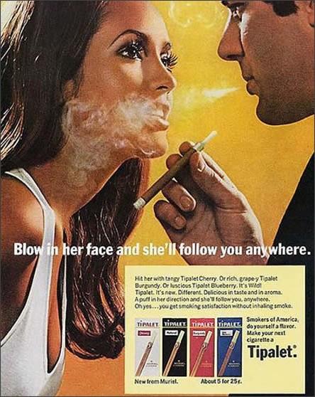 クレイジーなタバコ広告