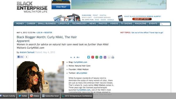 http://www.blackenterprise.com/2012/05/04/black-blogger-month-curly-nikki/