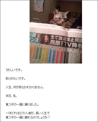 http://ameblo.jp/saibararieko/entry-11202686251.html