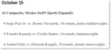http://www.espn.co.uk/boxing/story/_/id/12508267/boxing-fight-schedule
