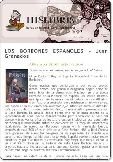 http://www.hislibris.com/los-borbones-espanoles-juan-granados/