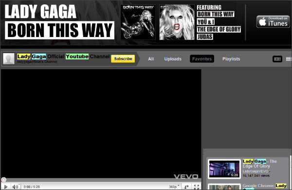 http://webcache.googleusercontent.com/search?q=cache:JFQmBX4DhXAJ:www.youtube.com/user/ladygagaofficial+lady+gaga+youtube+account&cd=2&hl=ja&ct=clnk&gl=jp&client=firefox-a&source=www.google.co.jp
