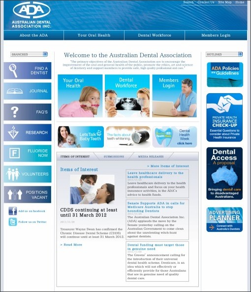 australian dental association oral hygiene guidelines