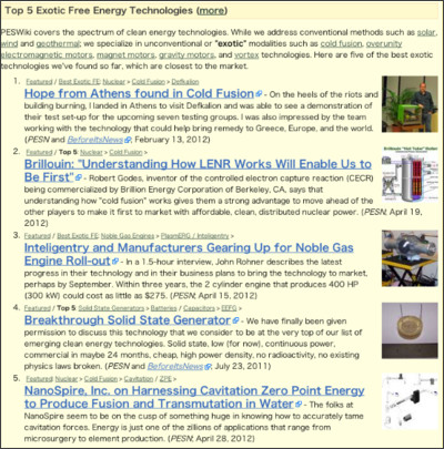 http://peswiki.com/index.php/Top_5_Exotic_Free_Energy_Technologies