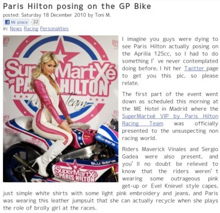 http://www.twowheelsblog.com/post/5730/paris-hilton-posing-on-the-gp-bike?utm_source=feedburner&utm_medium=feed&utm_campaign=Feed%3A+twowheelsblog%2Fcom+%28twowheelsblog%29